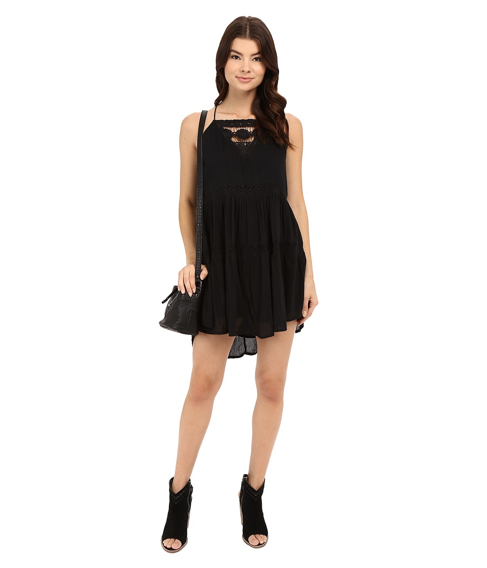 Amuse Society - Linnea Dress (Black) Women's Dress
