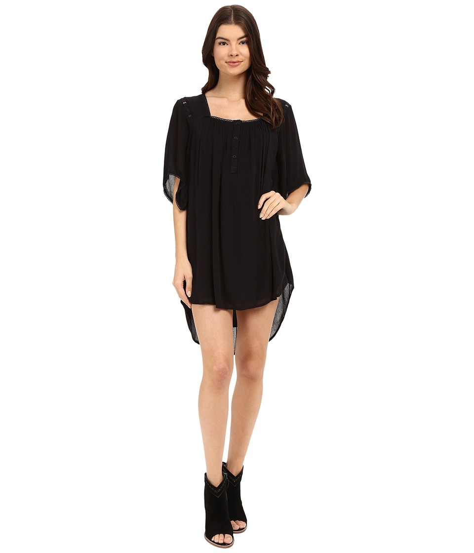 Amuse Society - Lucia Dress (Black) Women's Dress