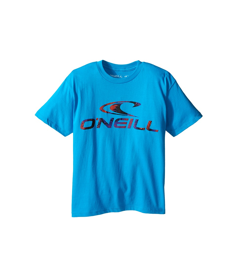 O'Neill Kids - Throttle T-Shirt (Big Kids) (Turquoise) Boy's T Shirt