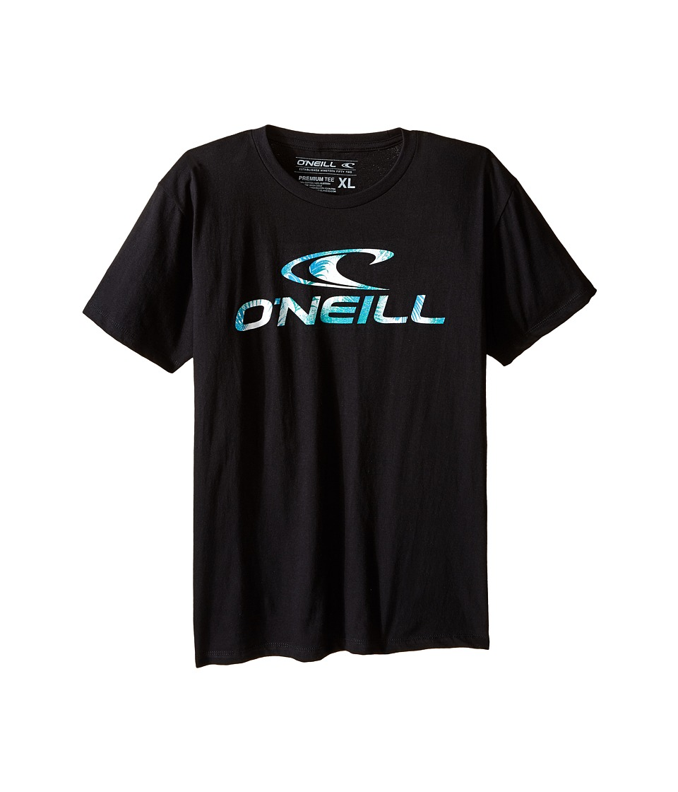 O'Neill Kids - Throttle T-Shirt (Big Kids) (Black) Boy's T Shirt