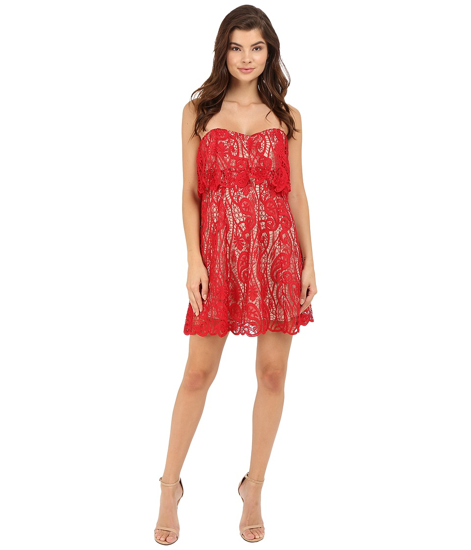 The Jetset Diaries - Lolita Mini Dress (Crimson) Women's Dress