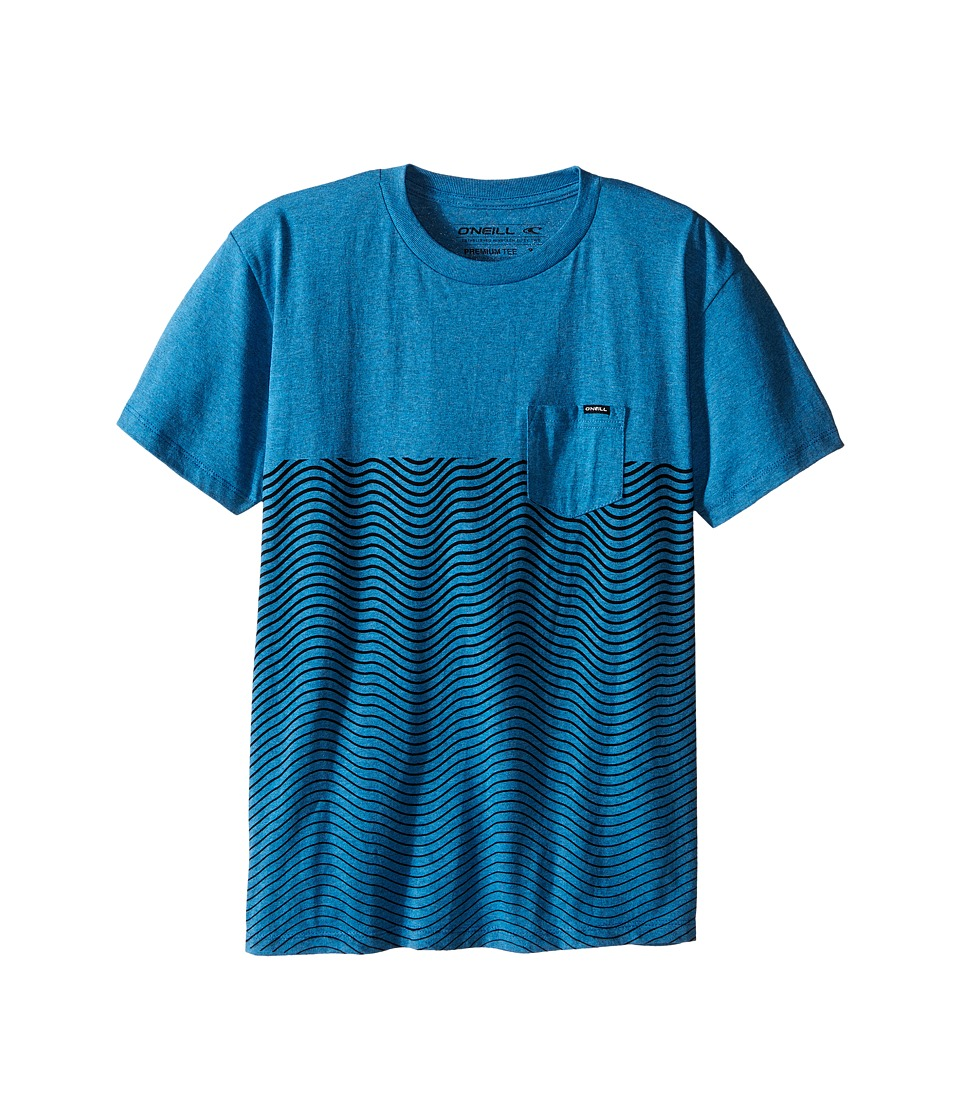 O'Neill Kids - Upwelling T-Shirt (Big Kids) (Pacific Blue Heather) Boy's T Shirt