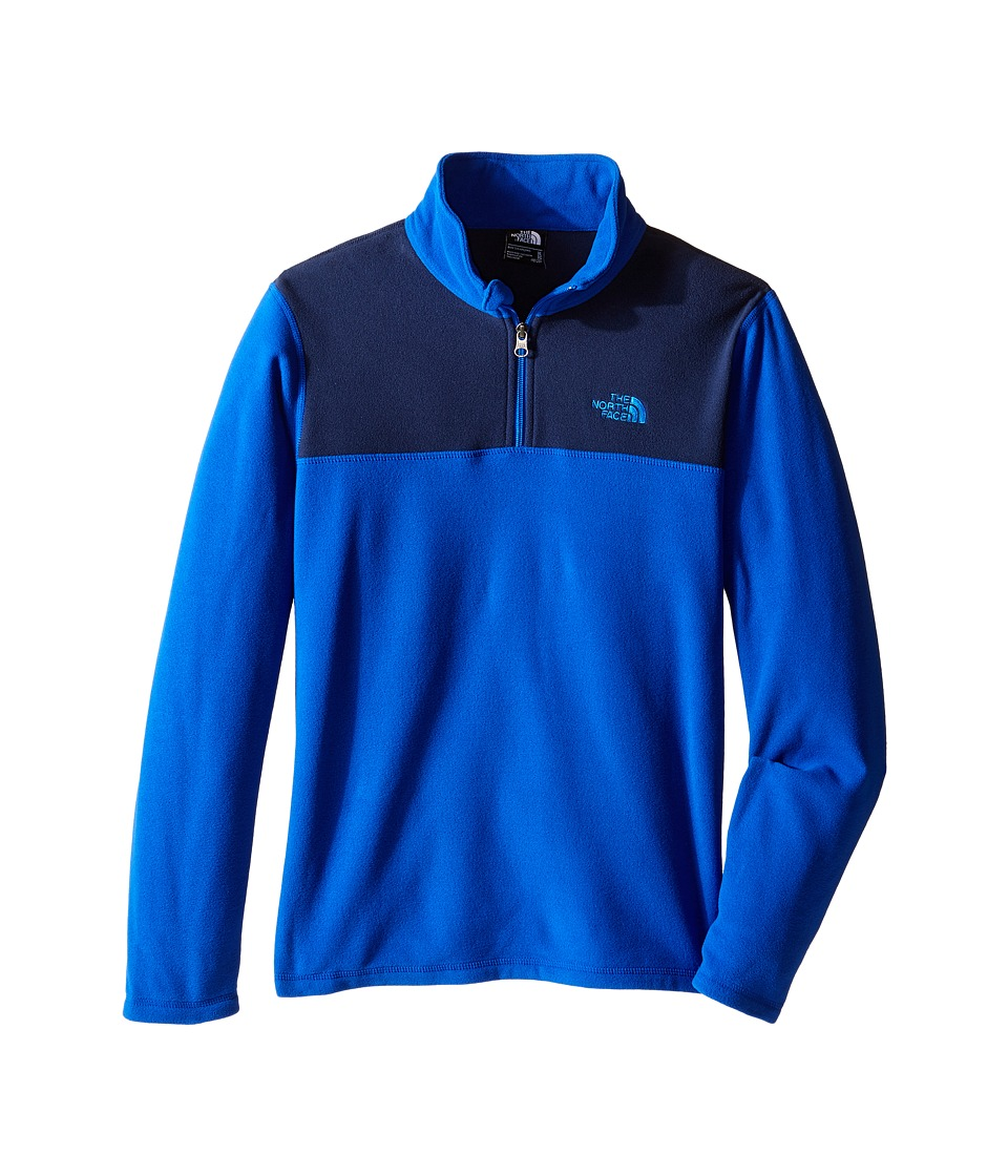 The North Face Kids - Glacier 1/4 Zip (Little Kids/Big Kids) (Honor Blue) Boy's Sweatshirt