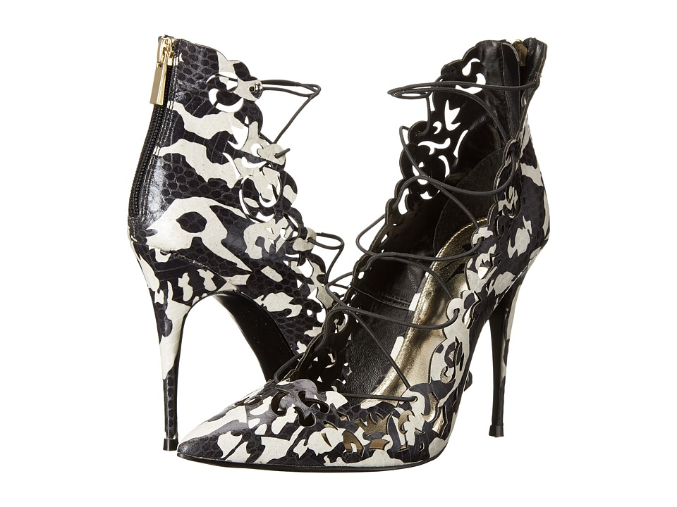 LFL by Lust For Life - Essence (Black/White) High Heels
