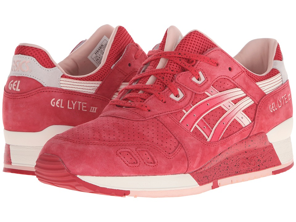 ASICS Tiger - Gel.Lyte III (Red/Cream) Athletic Shoes