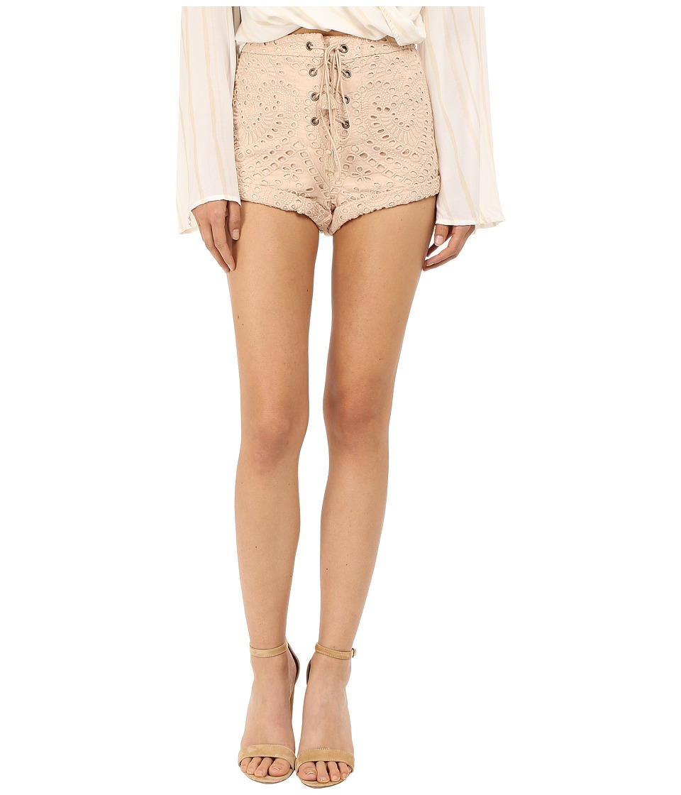 The Jetset Diaries - Santa Fe Shorts (Tan) Women's Shorts