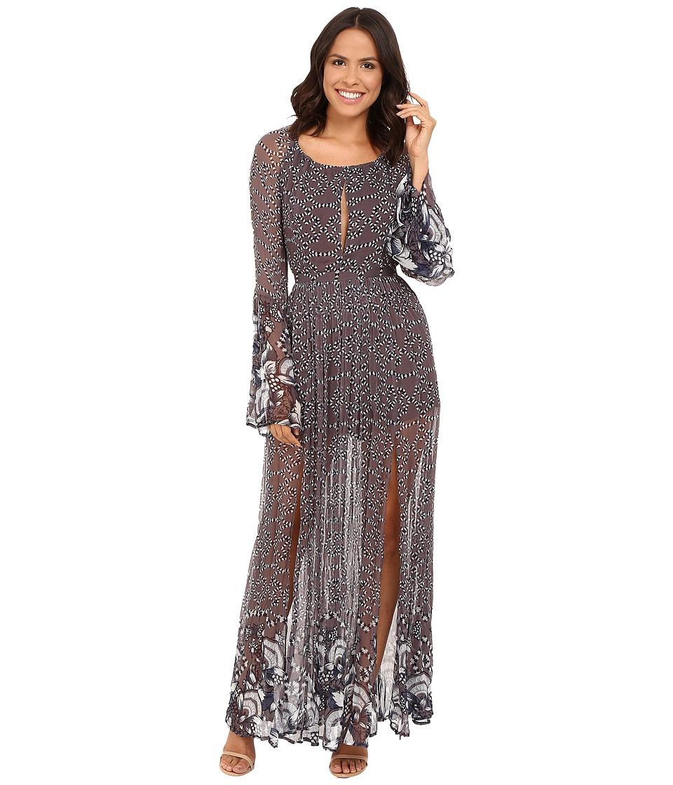 The Jetset Diaries - La Cucaracha Maxi Dress (La Cucaracha Print) Women's Dress