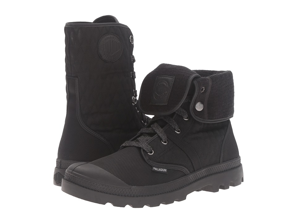 Palladium - Pallabrouse Bgy Felt (Black/Vapor) Lace-up Boots
