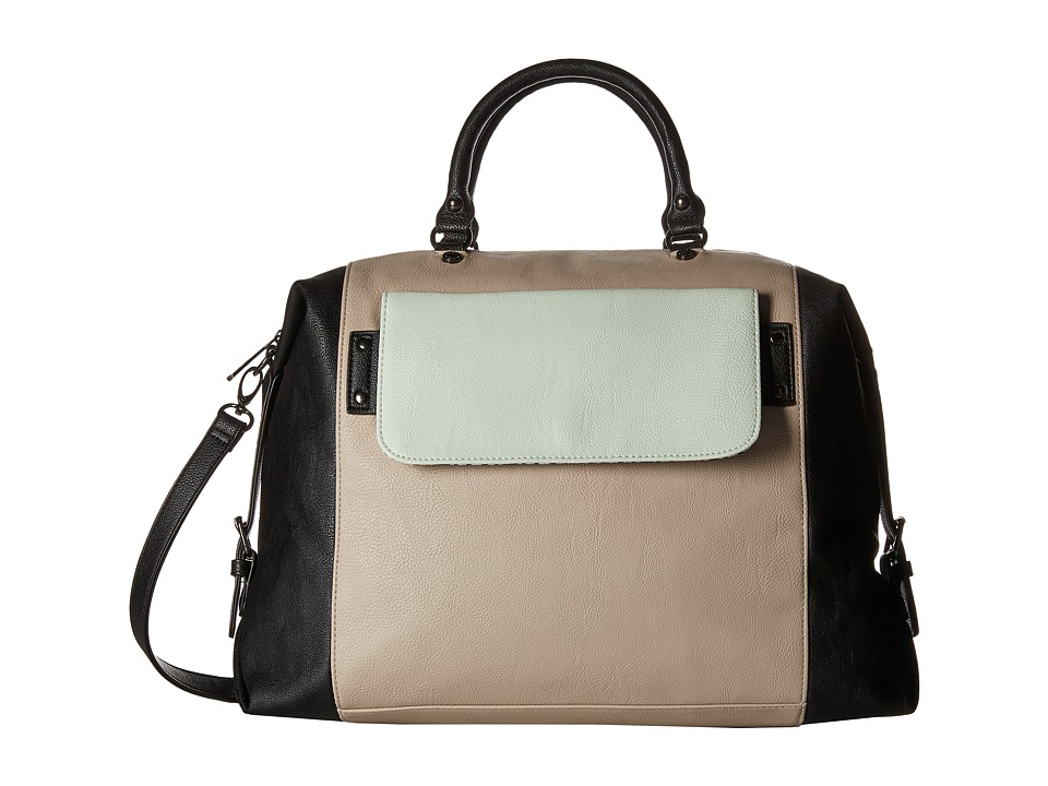 Steve Madden - Blara2 (Black/Fog/Mint) Satchel Handbags