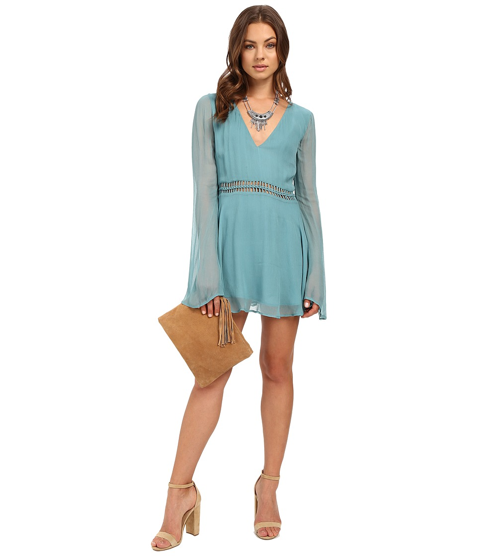 The Jetset Diaries - La Isla Tunic Dress (Pale Jade) Women's Dress