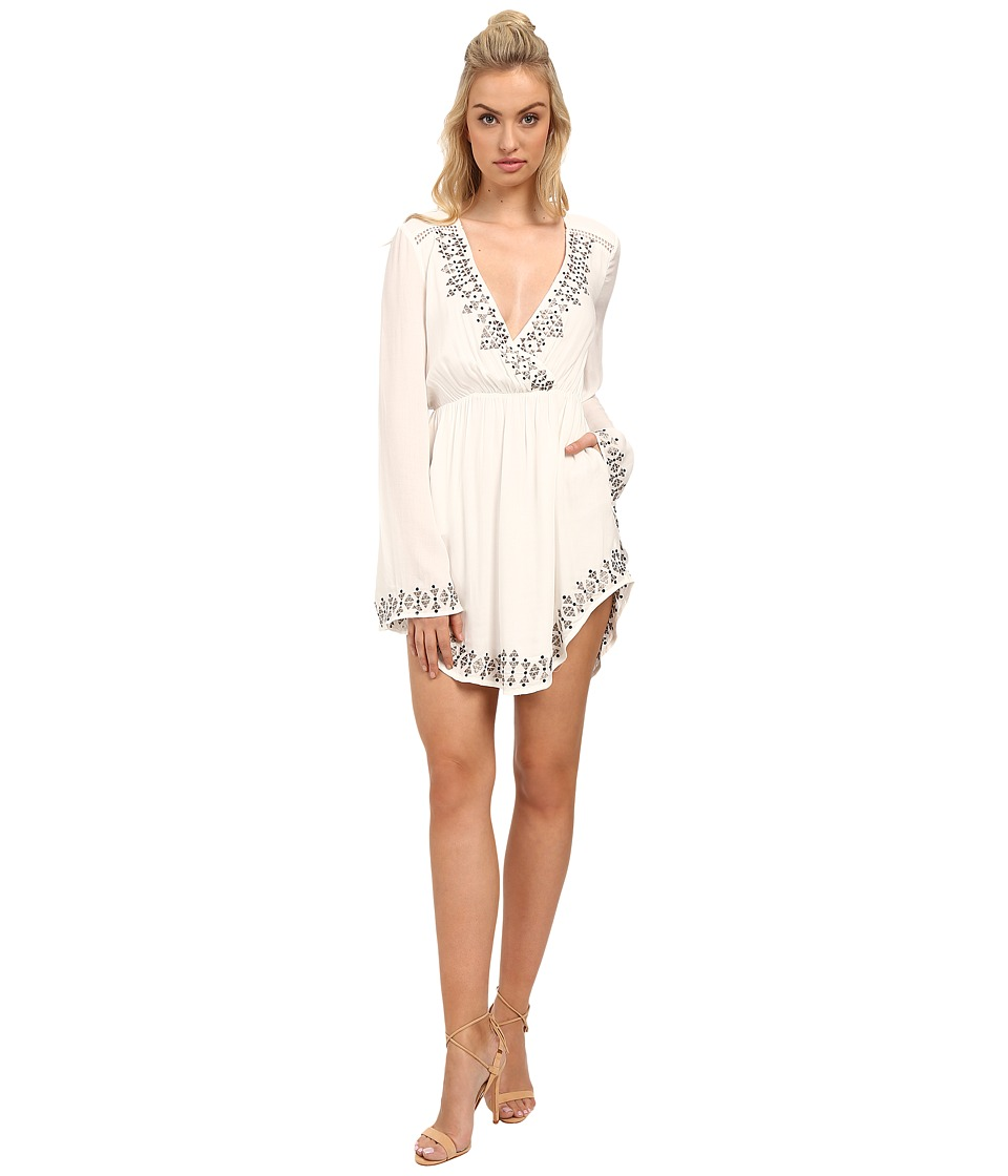 The Jetset Diaries - Aztec Mini Dress (Ivory) Women's Dress