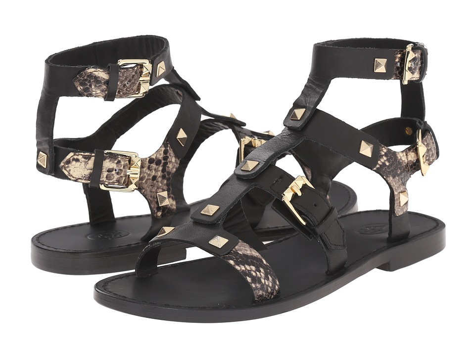 ASH - Morocco (Black/Roccia/Brasil Leather/Whisp) Women's Sandals