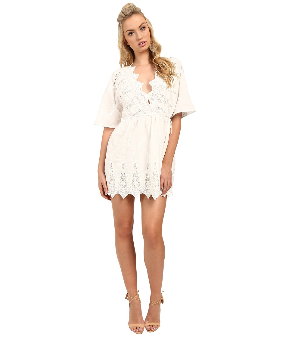 The Jetset Diaries - Mariposa Tunic (Ivory) Women's Clothing