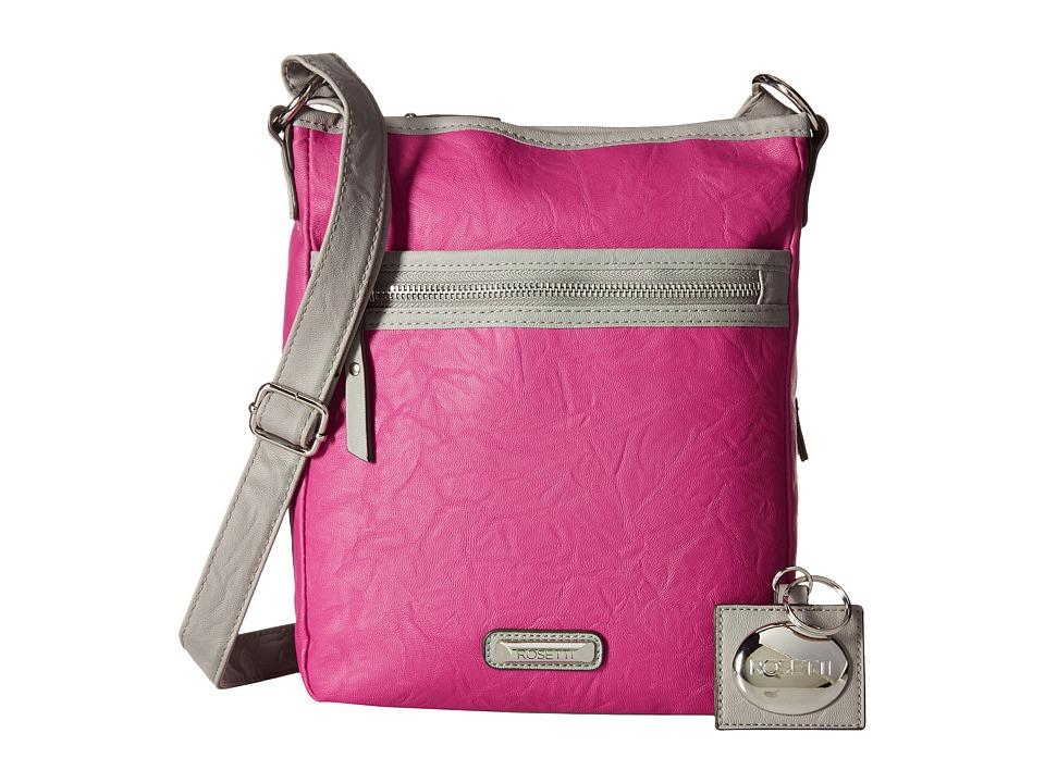 Rosetti - Tote It All Mid Crossbody (Pop Pink) Cross Body Handbags