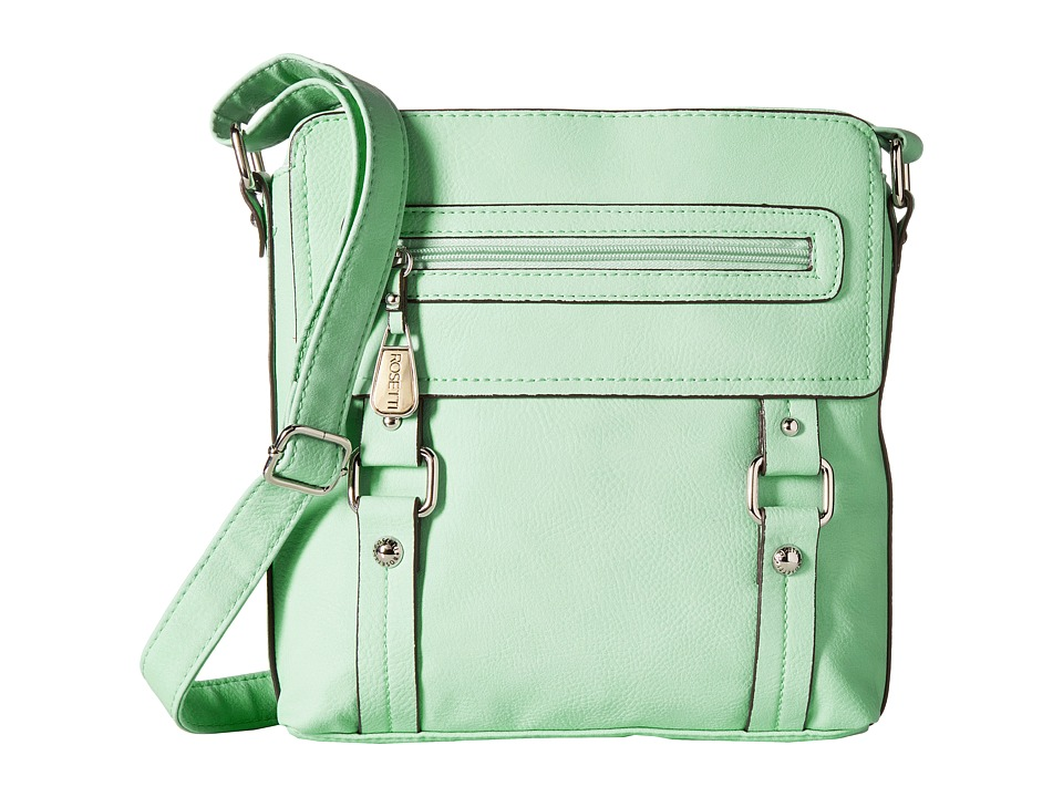 Rosetti - Clued In Top Zip Crossbody (Mint Tea) Cross Body Handbags