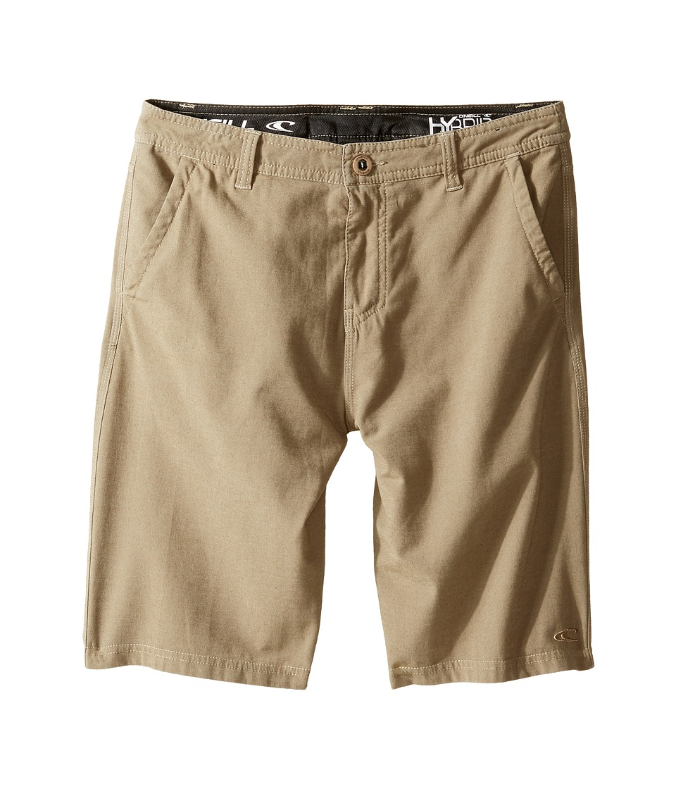 O'Neill Kids - Locked Overdye Hybrid Shorts (Big Kids) (Khaki) Boy's Shorts