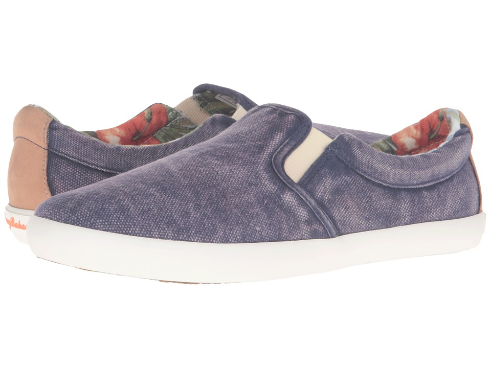 Tommy Bahama Enisa Canvas (Navy) Women