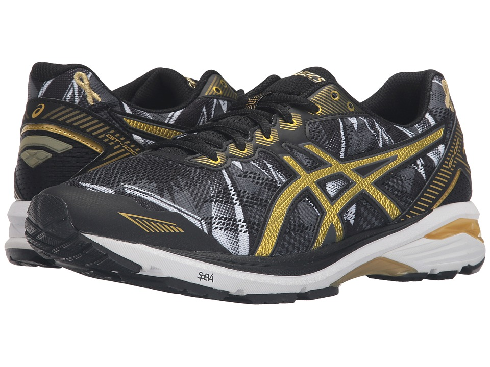 ASICS - GT-1000 5 GR (Black/Rich Gold/Gold Ribbon) Men's Running Shoes