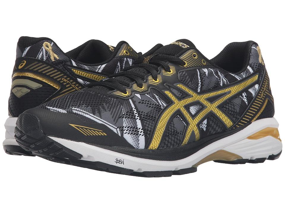 ASICS - GT-1000 5 GR (Black/Rich Gold/Gold Ribbon) Men's Running Shoes