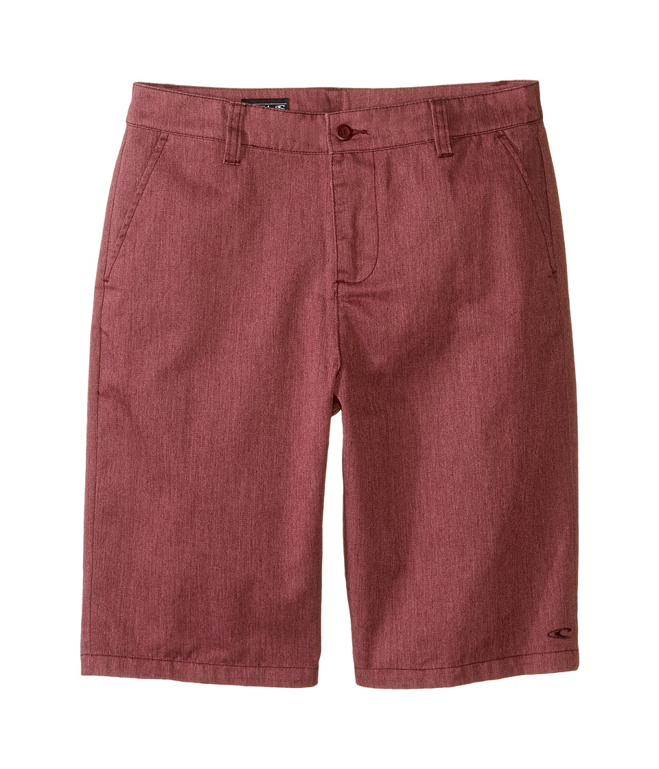 O'Neill Kids - Contact Walkshorts (Big Kids) (Burgundy) Boy's Shorts