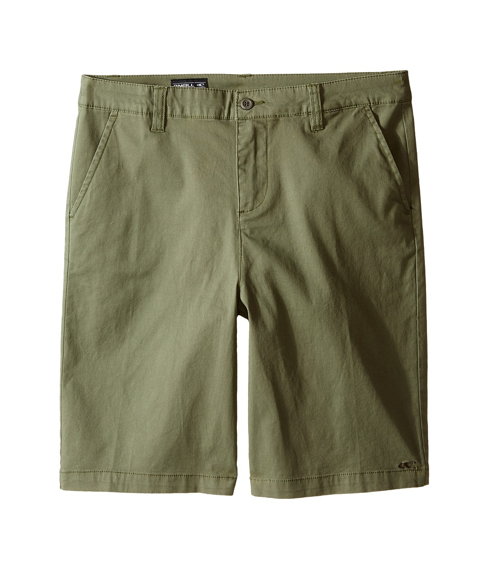 O'Neill Kids - Contact Stretch Shorts (Big Kids) (Dusty Olive) Boy's Shorts