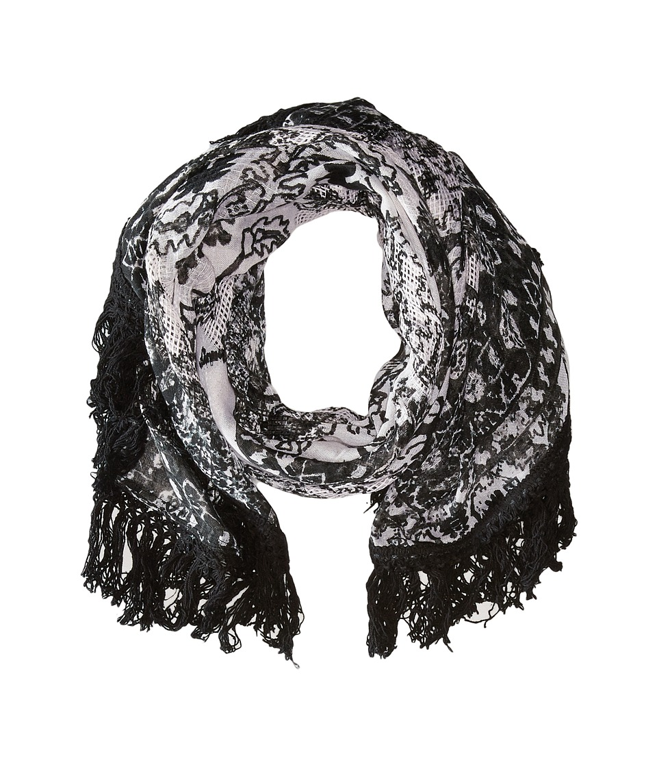BCBGeneration - Outside the Box Scarf (Black/White) Scarves