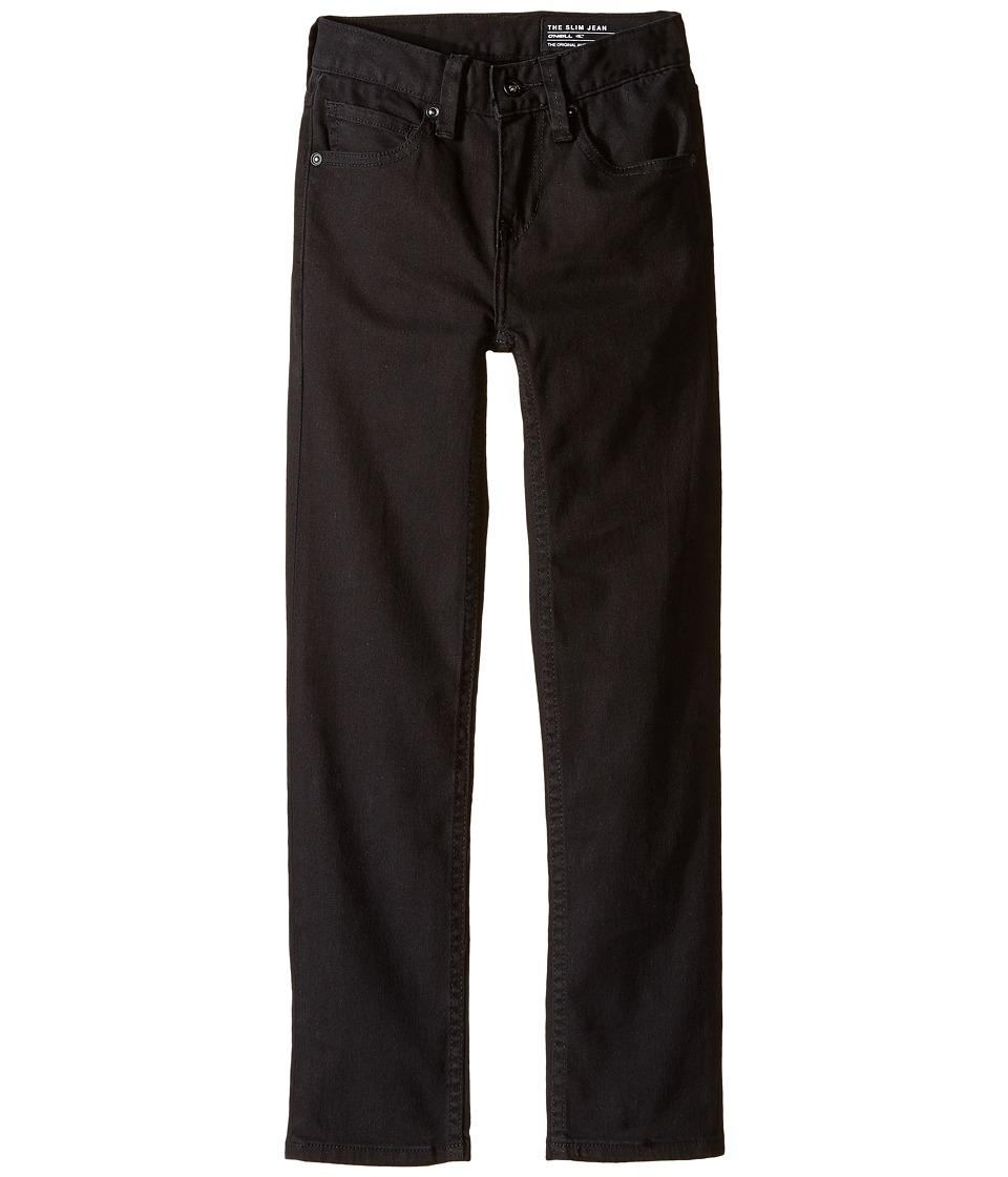 O'Neill Kids - The Slim Twill Pants (Big Kids) (Black) Boy's Casual Pants