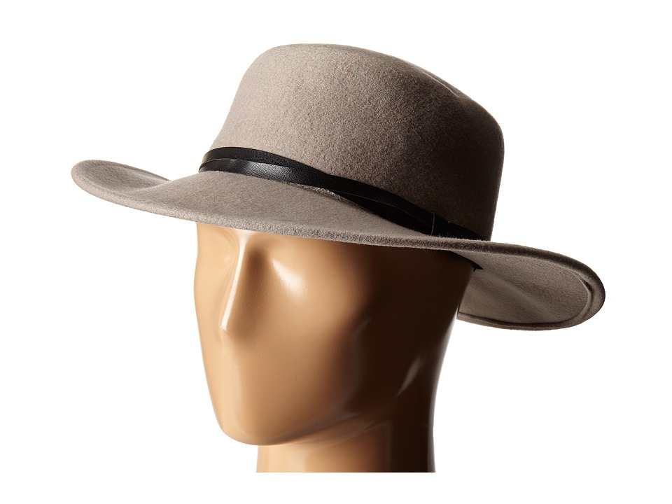BCBGeneration - Felt Gaucho Hat (Taupe) Cowboy Hats