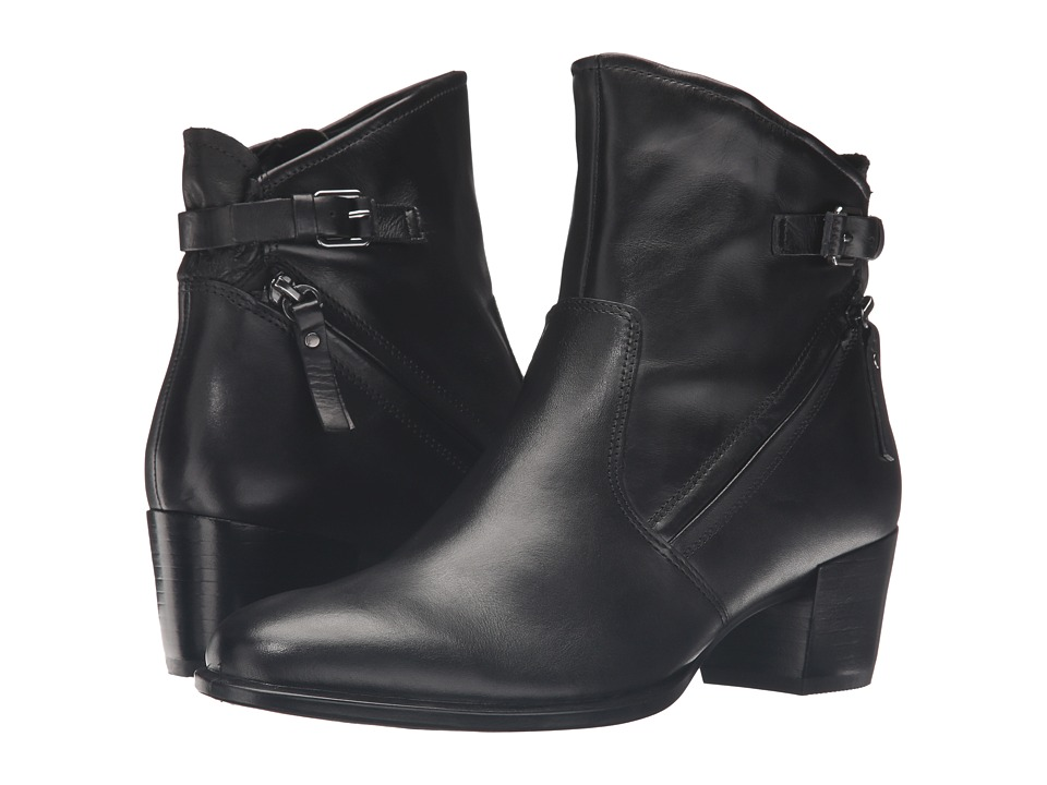 ECCO Shape 35 Ankle Boot (Black Cow Leather) Women