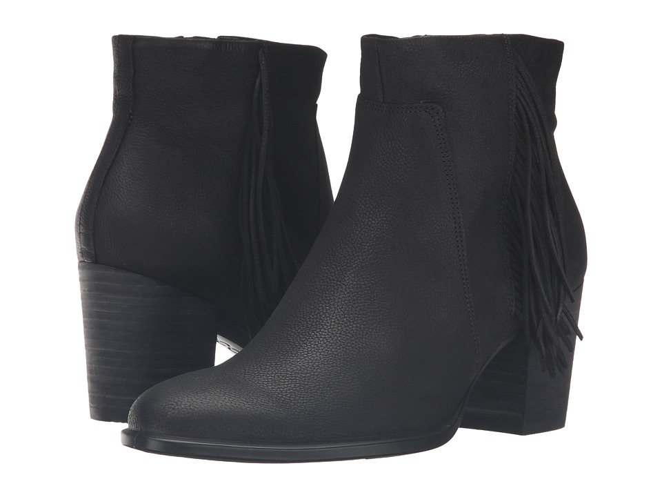 ECCO Shape 55 Bootie (Black Cow Nubuck) Women