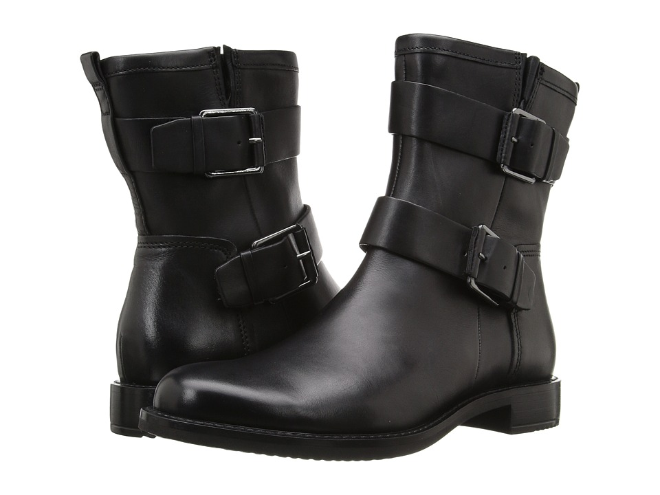 ECCO - Shape 25 Boot (Black Cow Leather) Women's Boots