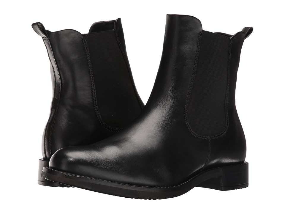 ECCO - Shape 25 Ankle Boot (Black Cow Leather) Women's Boots