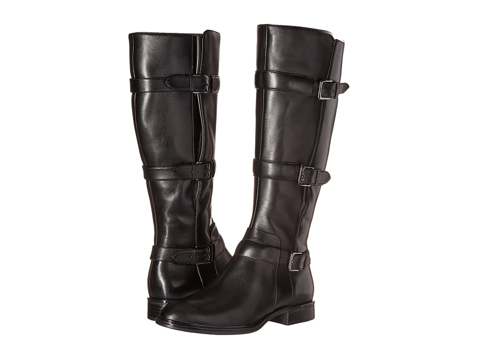 ECCO Chelsea 20 Tall Boot (Black Cow Leather) Women