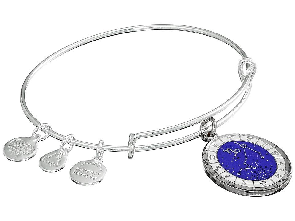 Alex and Ani - Celestial Wheel Capricorn Constellation Bangle (Shiny Silver) Bracelet
