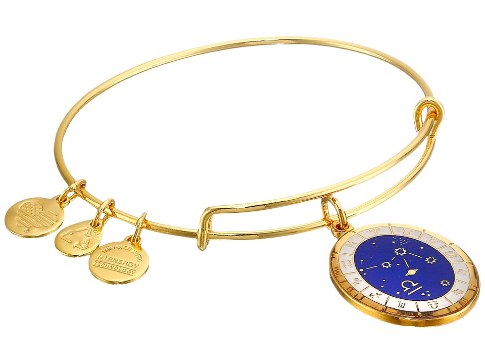 Alex and Ani - Celestial Wheel Libra Constellation Bangle (Yellow Gold) Bracelet