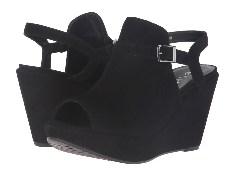 Vaneli - Edik (Black Suede) Women's Shoes