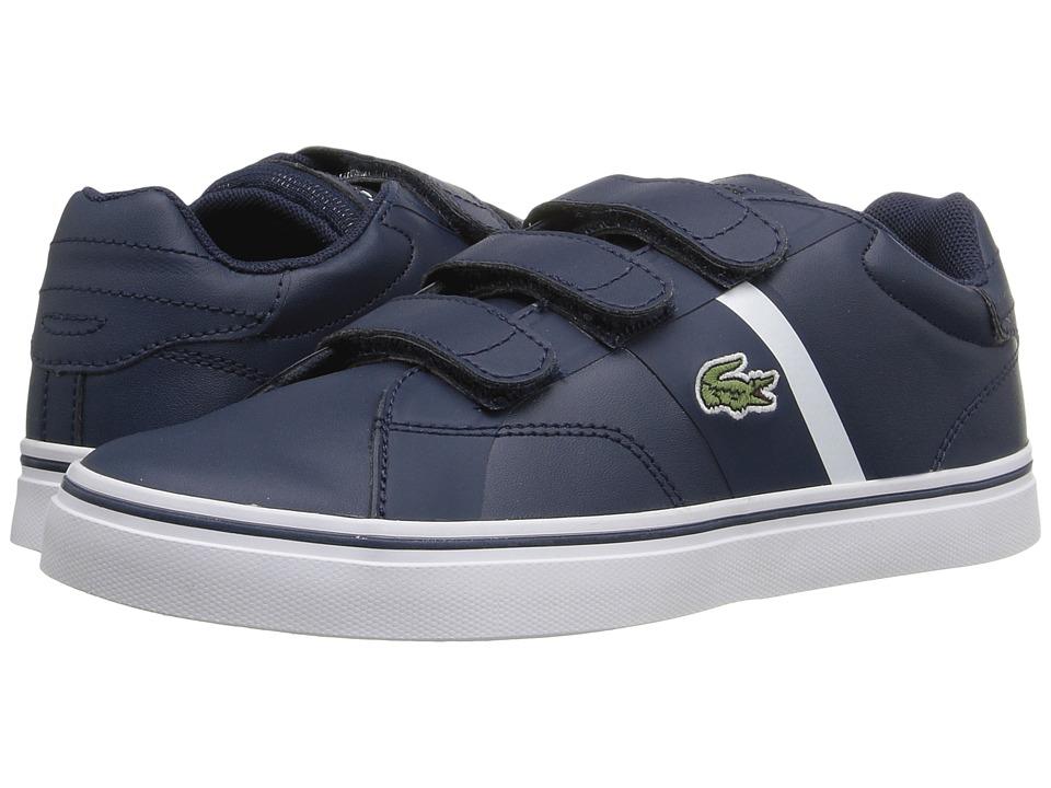 Lacoste Kids - Fairlead 316 1 SPC (Little Kid) (Navy) Kid's Shoes