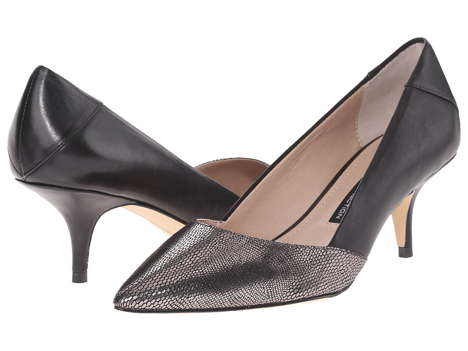 French Connection - Efayla M (Pewter/Black) Women's Shoes