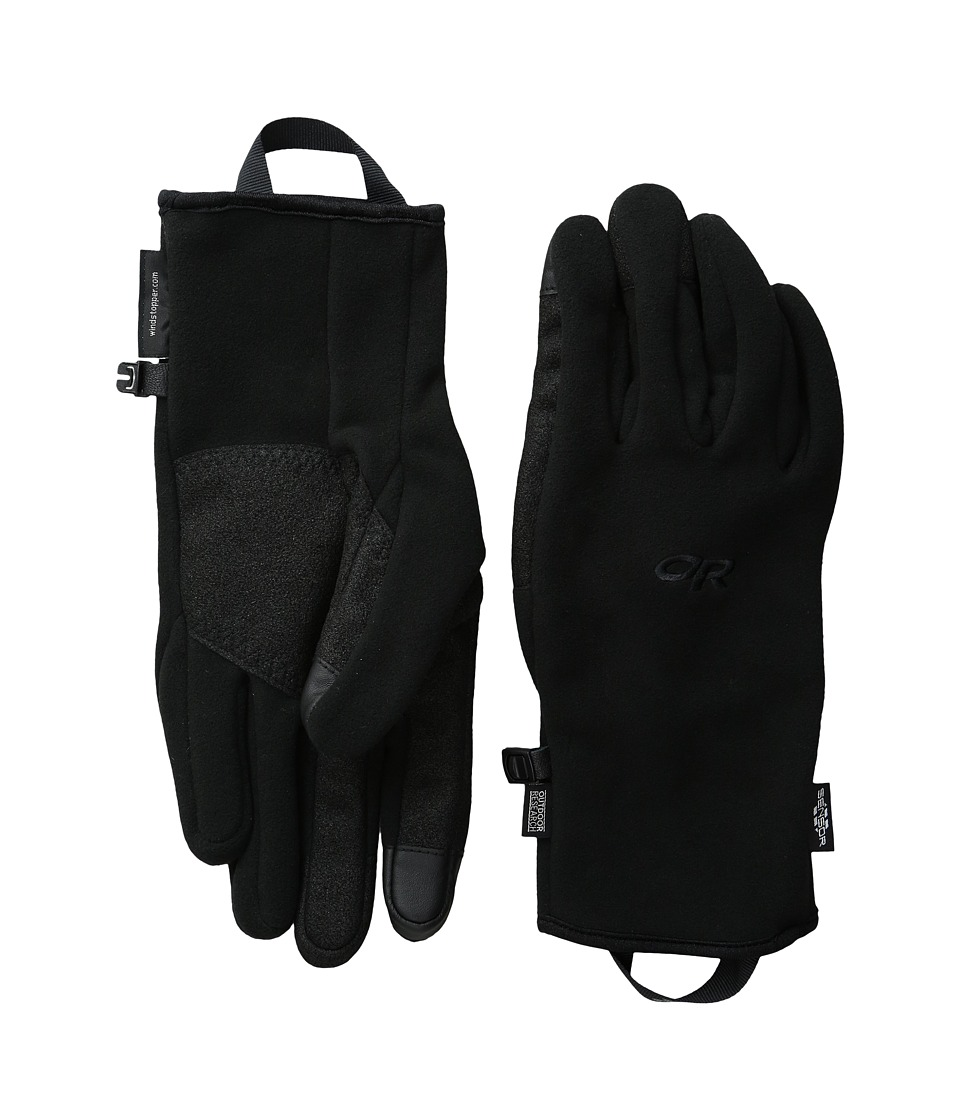 Outdoor Research - Gripper Sensor Gloves (Black) Extreme Cold Weather Gloves