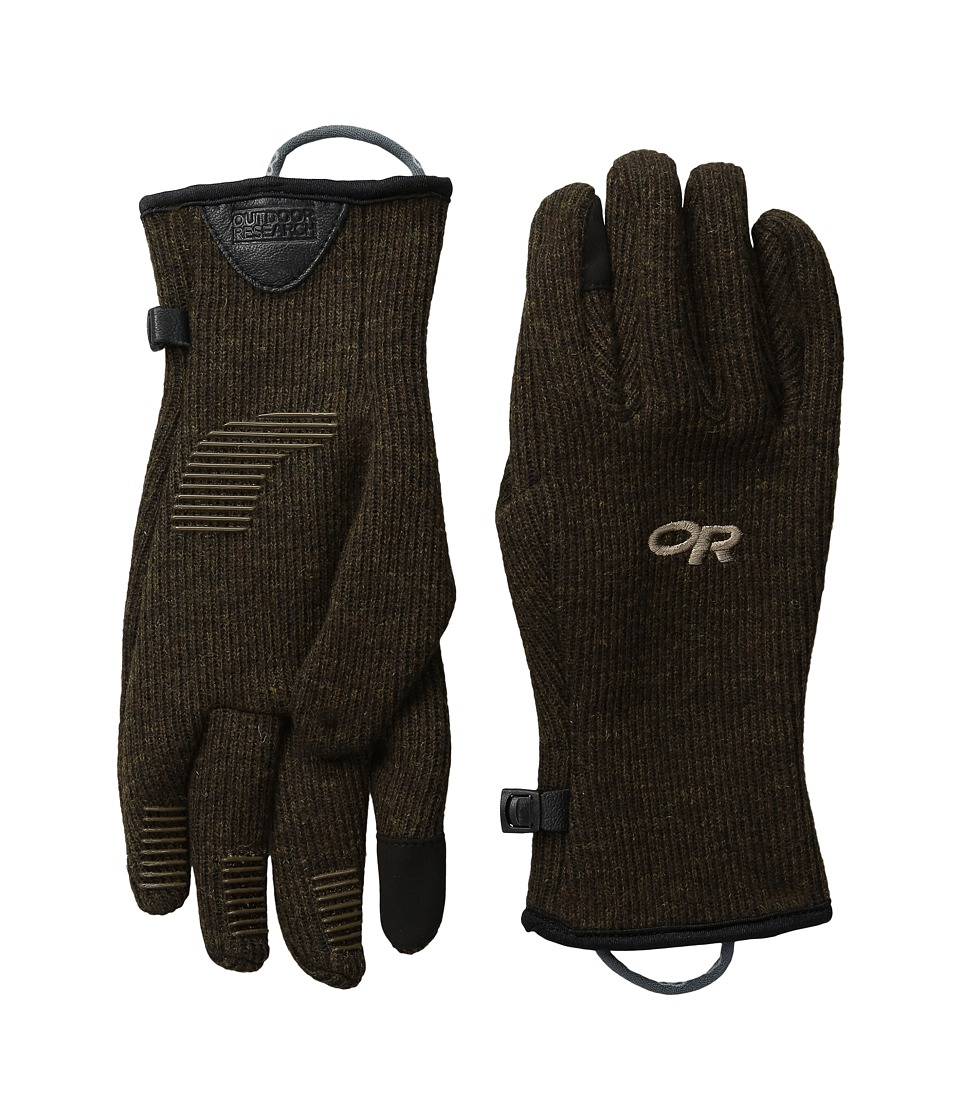 Outdoor Research - Flurry Sensor Gloves (Earth) Extreme Cold Weather Gloves