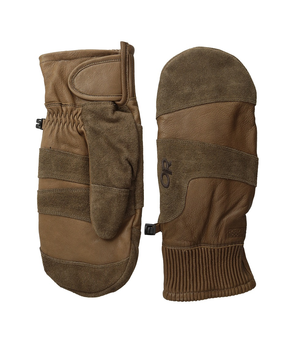 Outdoor Research Rivet Mitts (Coffee) Extreme Cold Weather Gloves