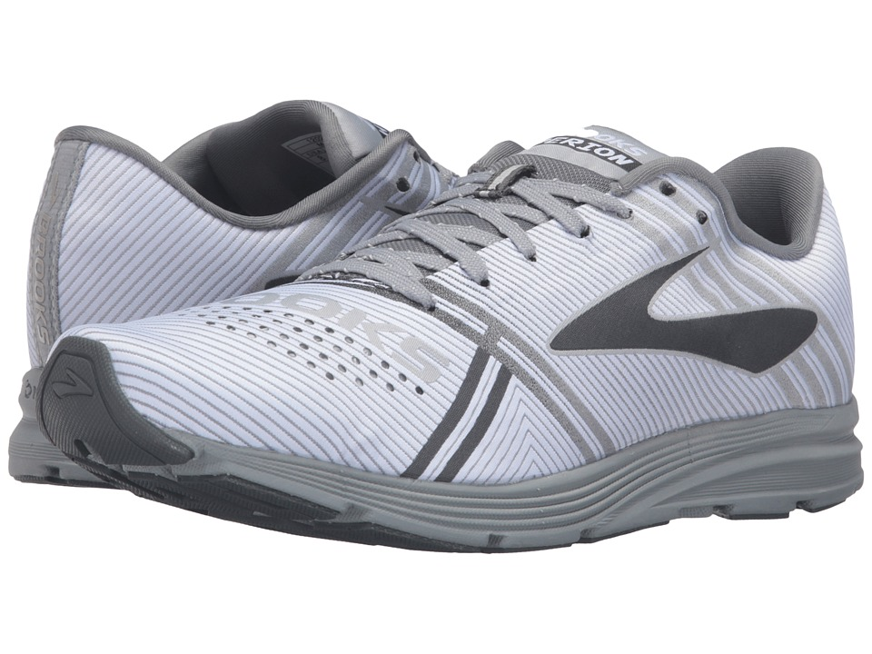Brooks Hyperion (White/Primer Grey/River Rock) Women