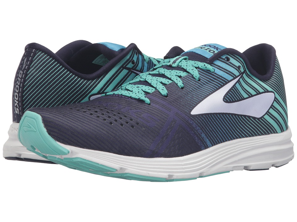 Brooks - Hyperion (Peacoat/Navy Blue/Cockatoo) Women's Running Shoes