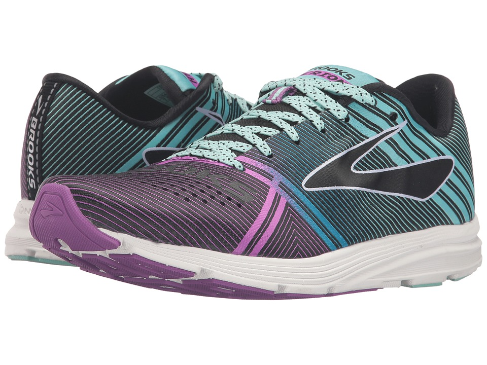 Brooks - Hyperion (Black/Dewberry/Aruba Blue) Women's Running Shoes