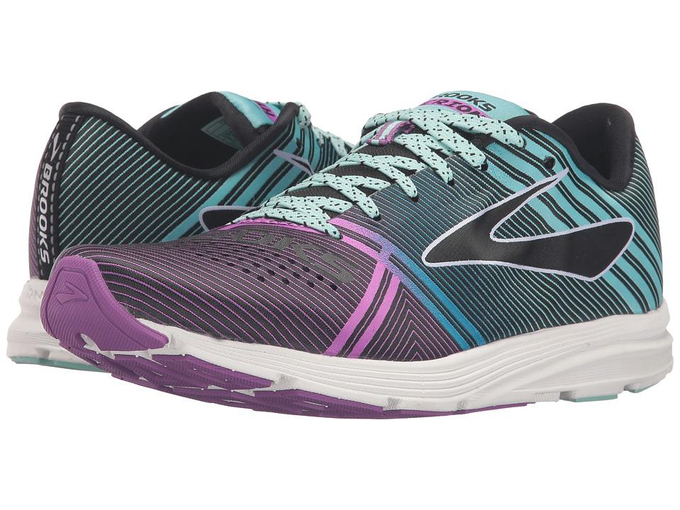 Brooks - Hyperion (Black/Dewberry/Aruba Blue) Women's Running Shoes