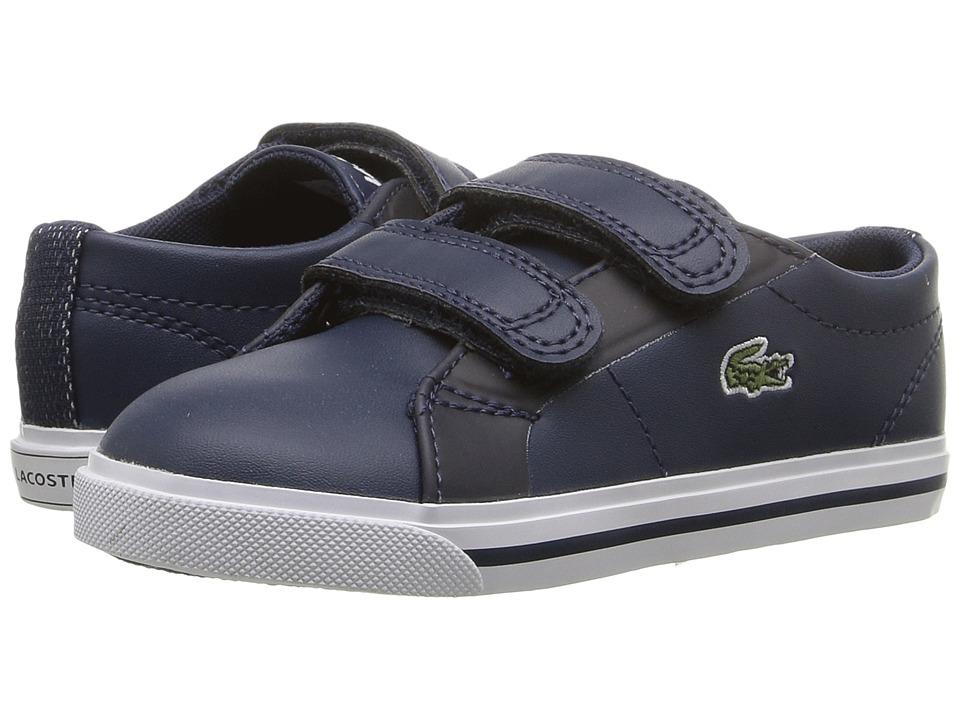 Lacoste Kids - Marcel 316 1 SPI (Toddler/Little Kid) (Navy) Kid's Shoes