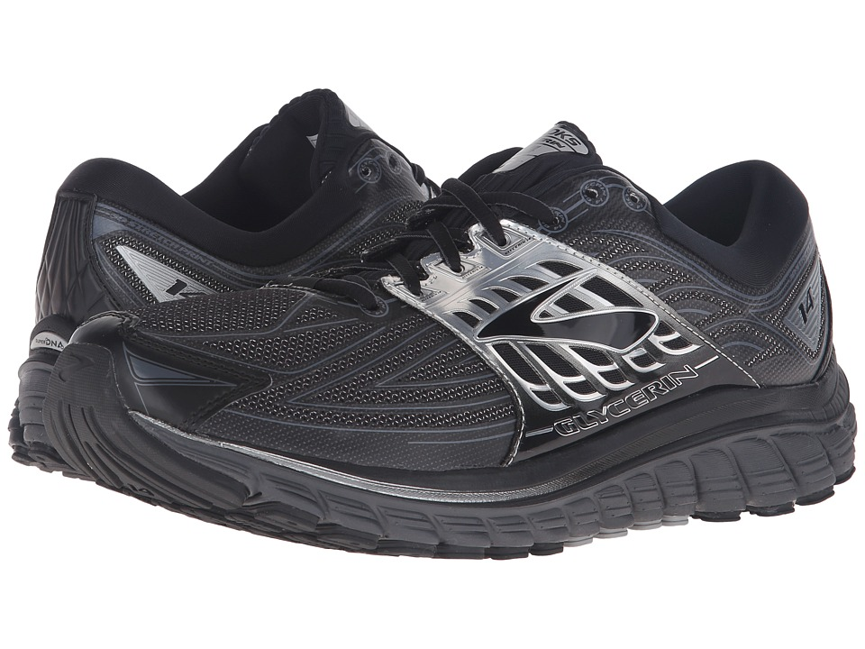 Brooks - Glycerin 14 (Black/Anthracite/Silver) Men's Running Shoes