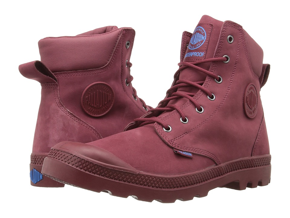 Palladium - Pampa Cuff WP Lux (Pomegranate/Diva Blue) Boots
