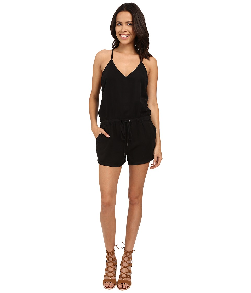 Blank NYC - Short Romper (Black) Women's Jumpsuit & Rompers One Piece