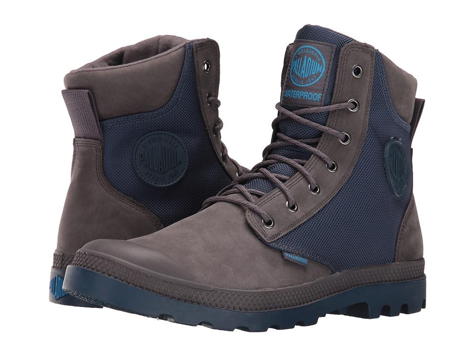 Palladium - Pampa Sport Cuff WPN (Rabiit/Dark Denim) Boots